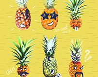 🍍 Crazy Pinapples SS17