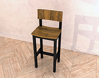 Custom Bar Stool