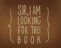 Sir, I am Looking for this Book (Video Game)