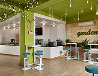 Garden Healty bar by LD Studio