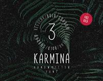 Karmina Handwritten Font (Bold FREE)