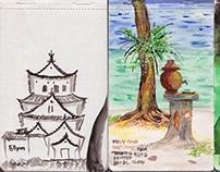 Moleskine Watercolor Sketches