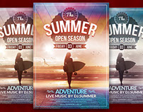 The Summer Flyer Template