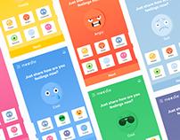 Mood sharing app