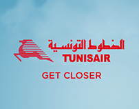Tunisair Digital media Visual