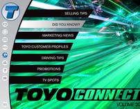 Toyo Tires Interactive Magazine App