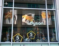Dyson BBB Window Display