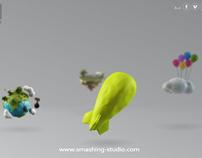 smashing studio | new website 2012