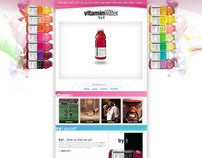 Vitamin Water - Mockup Artist and Web Designer