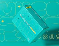 MS4+愛兒膜益生元  Packaging Design
