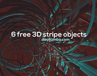 Free Chaos Stripes 3D Shapes