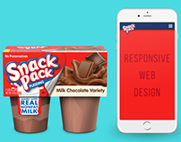 Snack Pack Responsive Web Design