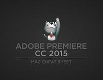 Adobe Premiere Pro CC 2015 Mac Cheat Sheet