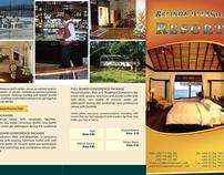 BELINDA BEACH RESORT BROCHURES DESIGN