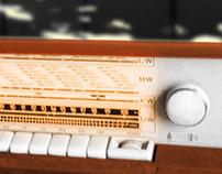 Rádio - Iluminária