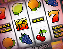 "Slot machine - ""Fruit win-win"""
