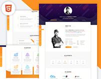 Bryson - vCard / CV / Resume & Portfolio HTML Template