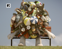SUMMER IDENTS by MTV and The Lab Sydney