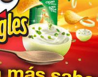 Pringles más sabor - Digital