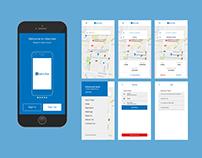 Uber Like App UI/UX