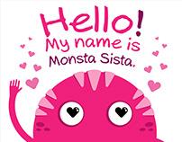 Monsta Sista Illustrations
