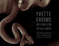 Yvette Gig Poster - February 2017