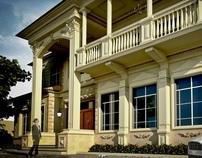 A Classic private villa design