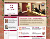 Olivers Dental Cabinet website proposal