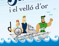Ilustración Carteles Escuela de Música