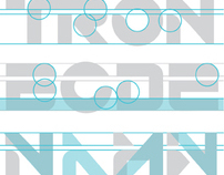 Typographic Study- Typeface from Tron