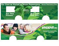 Avera McGreevy Clinic // URGENT care BUS wrap
