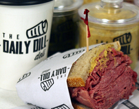 The Daily Dill Deli Packaging