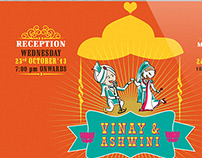 Vinay and Ashwini's wedding website