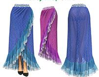Marvelous Designer Wrap Skirt Tutorial