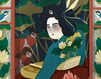 Joseon dynasty artist, Gisaeng