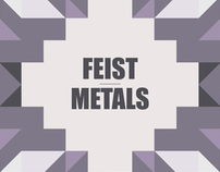 Feist Metals Tour Poster