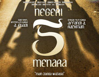 Negeri 5 Menara - Movie Poster