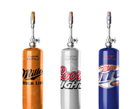 Miller Coors Flush Bottle