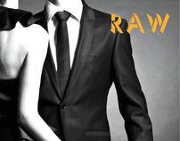 "Raw Magaizne,  ""magazine ad"""