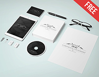 Corporate Stationary - Free PSD Mockup
