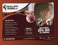Salon EDDM postcard