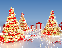 Abstract Christmas Tree (5 versions)