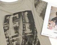 Photographic Shirts and Bag - Artwork