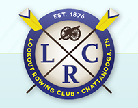 Lookout Rowing Club Rebrand