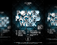 Power Packed Week - Flyer Design!