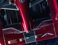 EPTA Design ltd Dendrodium Concept Car