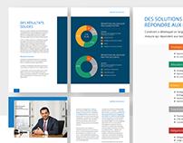 Annual reports design for Candriam
