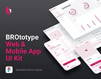 BROtotype Wireframe UI Kit