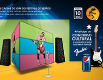 Pepsi . Festival de Verão
