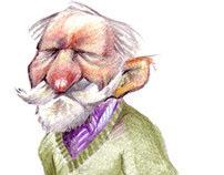 Anciano (lápiz)